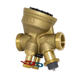 Régulation hydraulique des petites unités terminales de refroidissement