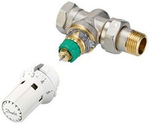 Robinets thermostatiques hydrauliquement dynamiques Danfoss