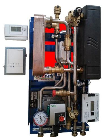 Module Individuel de chauffage et préparation Eau Chaude Sanitaire