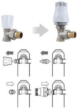 Thermostatiser un robinet manuel sans vidanger et sans isoler - Changer un robinet thermostatique de radiateur sans vidanger ...