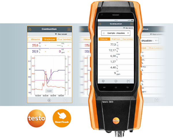 analyseur de combustion testo 300