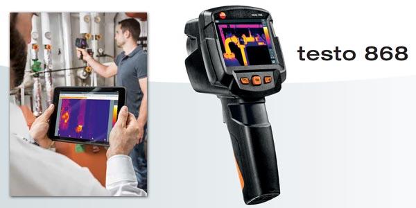 Caméra thermique connectée testo 868
