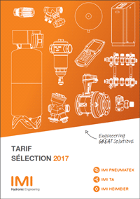 Catalogue tarifs 2017