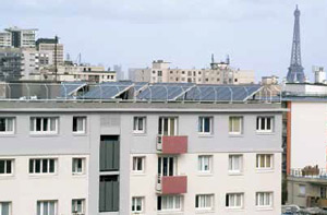 immeuble énergie solaire