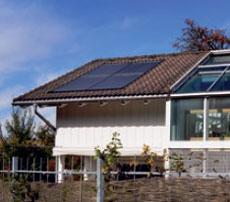 Montage dans le toit
