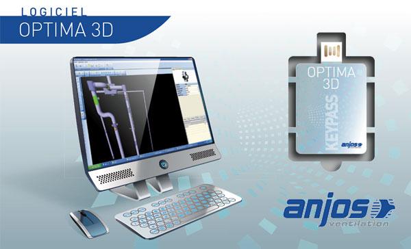 Logiciel OPTIMA 3D