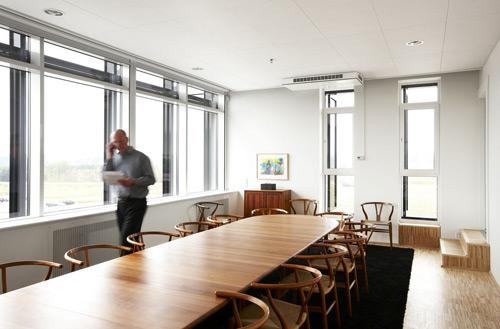 Salle de réunion à occupation discontinue