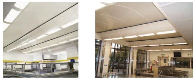 plafond filtrant