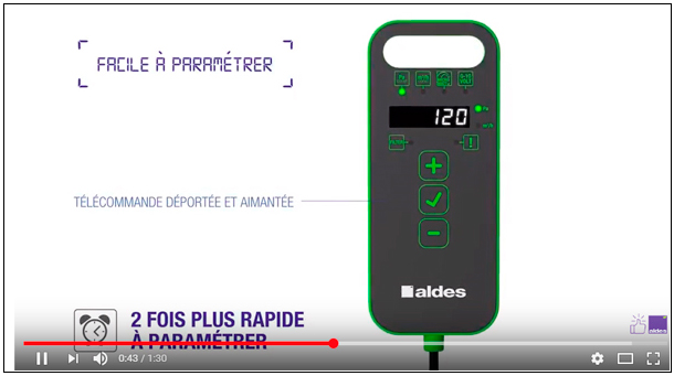 Vidéo Gamme EasyVEC® Aldes