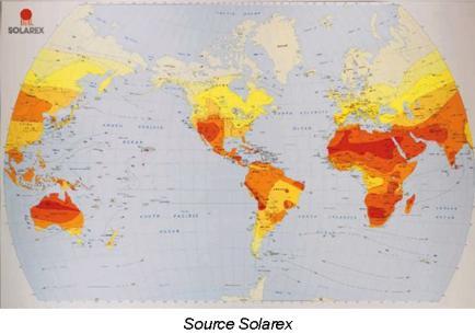 Solaire thermique et capteurs dans l 39 habitat niveau bp bac 2 4 les - Consommation electrique moyenne mensuelle ...