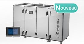 Centrales de traitement d'air Topvex Nouvelle Génération