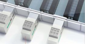 Liebert® EFC : unité Freecooling indirecte à air avec échangeur évaporatif