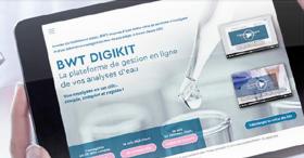 Simplification des analyses d'eau grâce à BWT-DIGIKIT