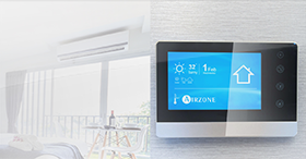 Pour une intégration des unités Inverter/DRV : Aidoo Wi-Fi et KNX