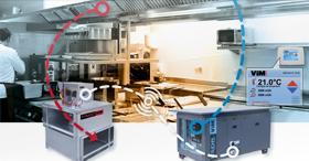Solution d'épuration d'air par lampes UV : Hottes NOVAX UV CONFORT 90/10