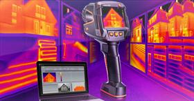 Une caméra thermique pour une qualité d'image parfaite : Testo 883