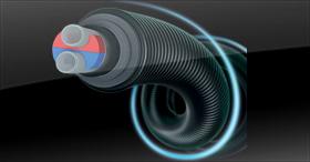 Le tube pré-isolé pour une isolation exceptionnelle : Ecoflex VIP
