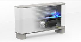 Le ventilo-convecteur à dispositif de purification d'air incorporé : FCZ H