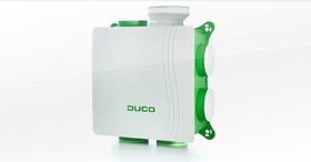 La VMC simple flux hygroréglable silencieuse et basse consommation : DucoBox Hygro
