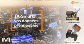 La vanne d'équilibrage et de régulation révolutionnaire : TA-Smart