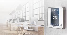Une gestion centralisée monozone avec Aidoo Wi-Fi et KNX