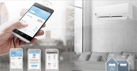 Le climatiseur résidentiel réversible connecté : Dualcool Deluxe UVnano