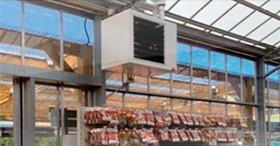 Les modulants pour une haute efficacité énergétique : Aerotherme Inoxair LRP et LK
