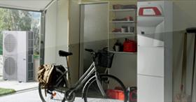 La PAC hybride air/eau compacte et facile à vivre : NOLEA EVO HYBRIDE