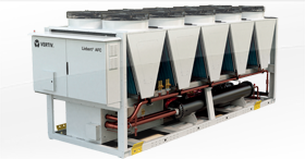 Les groupes de production d'eau glacée avec réfrigérant écologique : Vertiv Liebert® AFC