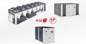 La solution monobloc haute performance pour le confort : AQUACIAT<sup>POWER</sup> R32