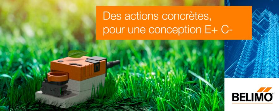 Régulation énergétique pour une conception E+C-: 5 actions concrètes