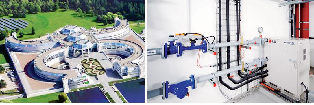 Variation automatique du débit d'eau des groupes DRV : Solution inédite