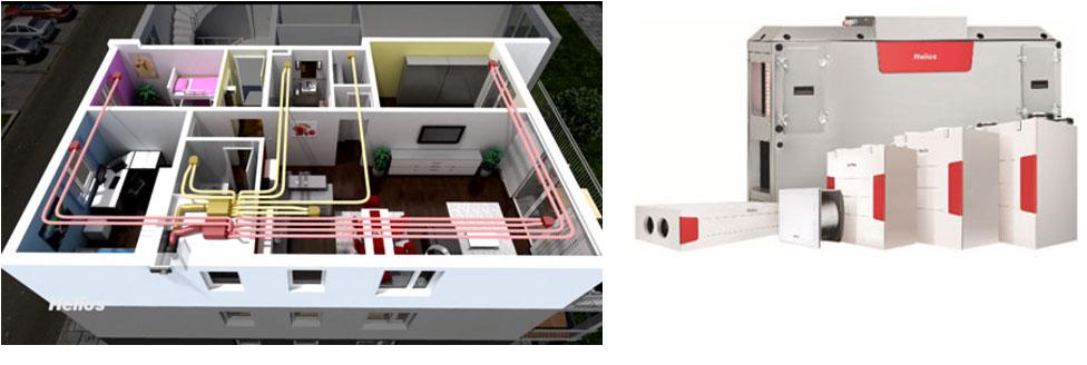 Ventilation des bâtiments labélisés par le Passivhaus Institut