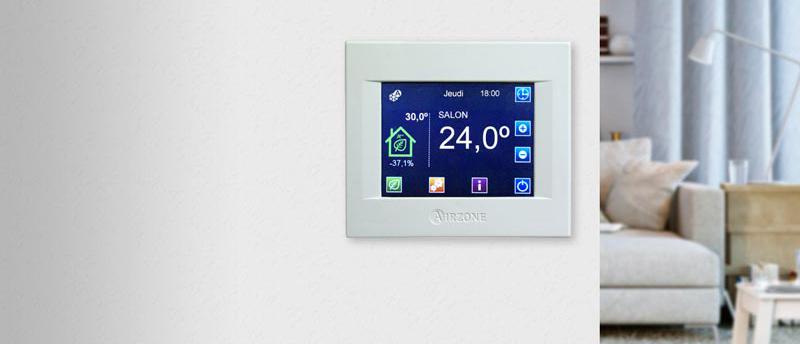 Climatisation et chauffage par zonification