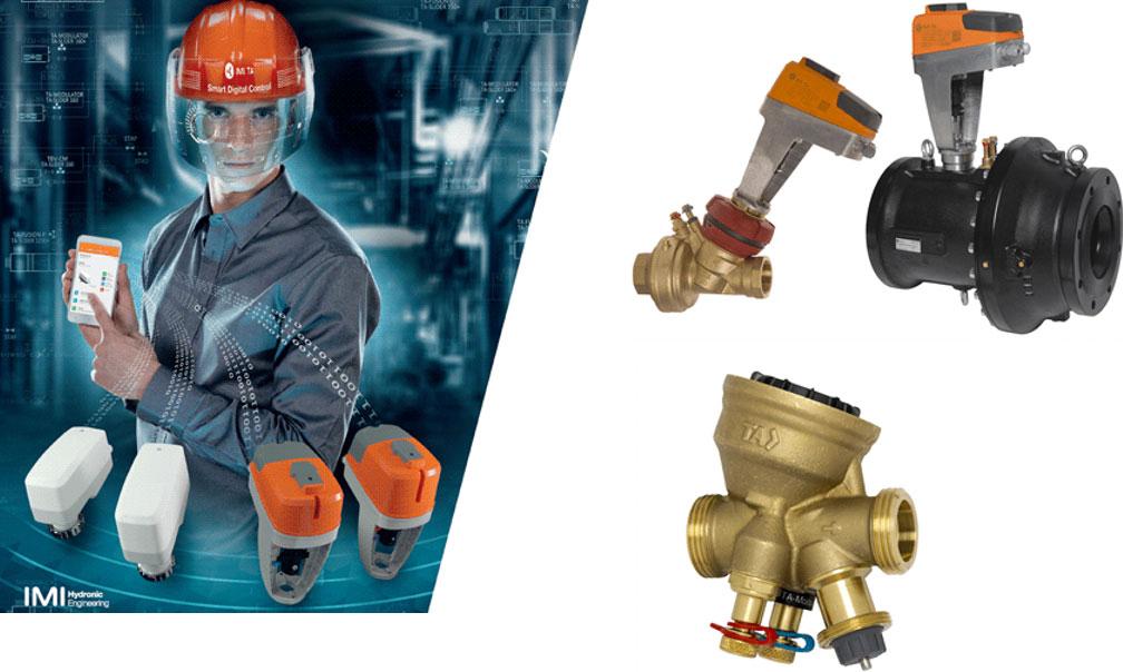Les vannes de régulation hydraulique