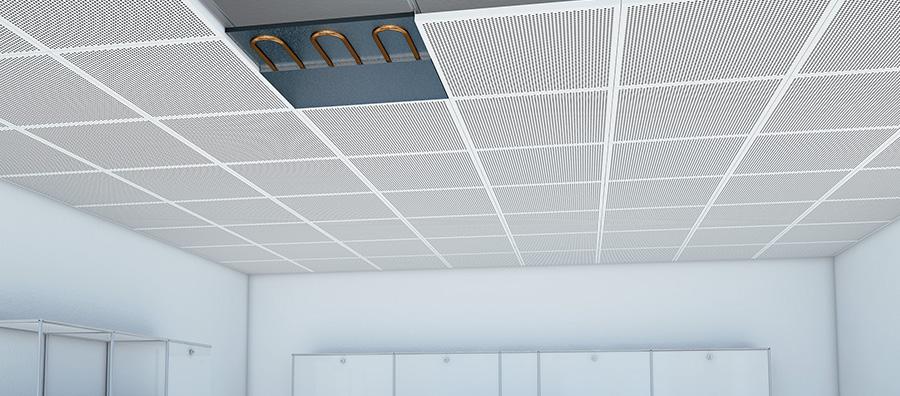 Plancher chauffant rafraîchissant - plafond chauffant rafraîchissant