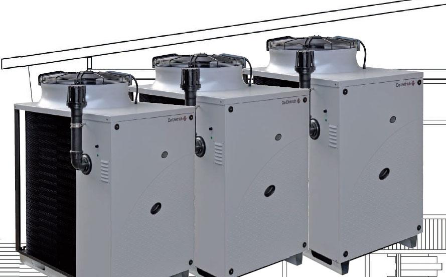 Pompe à chaleur absorption gaz et solutions RT 2012