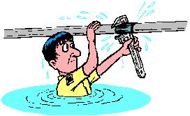 rétraction d'eau