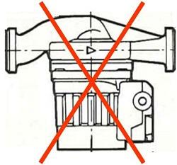 pompe à rotor sec