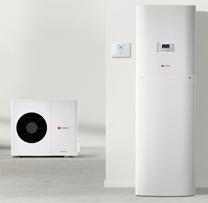 Pompe à chaleur double service air / eau split