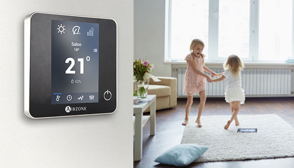 Thermostat chauffage regulation intelligente Airzone