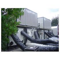 climatisation avec groupes d'eau glacée et centrales de traitement d'air
