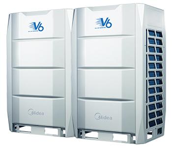 unités modulaires full DC Inverter débit variable Midea