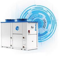 Refroidisseur de liquide air / eau à compresseur inverter Zeta Rev