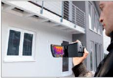 Caméra thermique à l'oeuvre