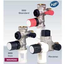 Groupe 889 Inox pour eaux agressives