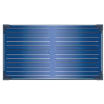 Capteurs solaires plans