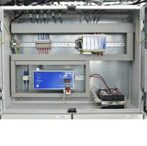 Centrale de commande électrique 16A à 144A pour l'aération et de désenfumage