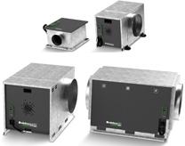 Caissons de ventilation simple flux