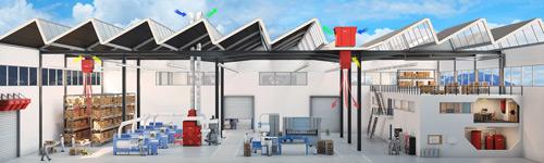 Appareil de ventilation de toiture pour système décentralisé